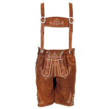 Lederhosen luxe faded grey