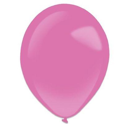Ballonnen hot pink (28cm) 50st