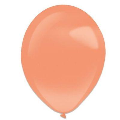 Foto van Ballonnen orange peel pearl (13cm) 100st