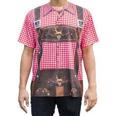 Tiroler t-shirt met opdruk