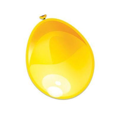 Ballonnen metallic geel (30cm)