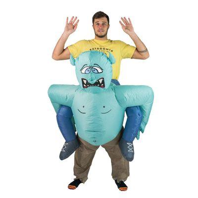 Foto van Trollen carry me kostuum