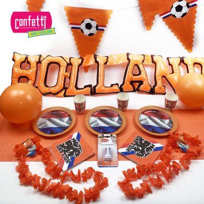 Foto van Ek voetbal oranje pakket thuis