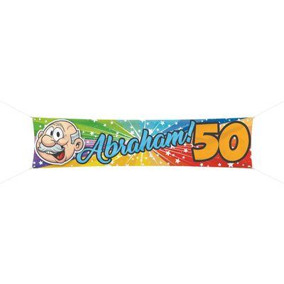 Banner Abraham 180x40cm