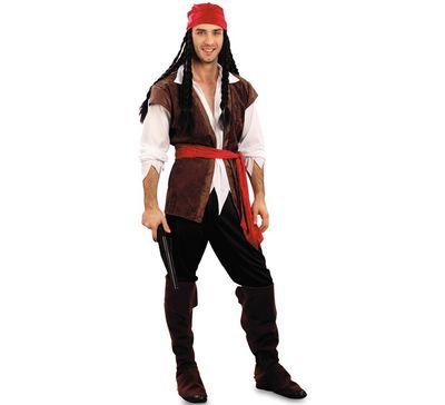 Jack sparrow kostuum