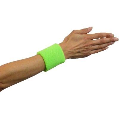 Foto van Zweet polsbandjes neon groen