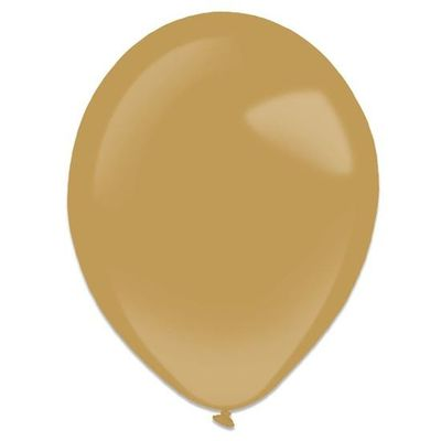 Ballonnen mocha brown (35cm) 50st