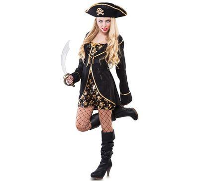 Piraten jurkje - luxe