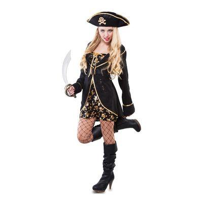 Foto van Piraten jurkje - luxe