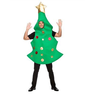 Foto van Kerstboom kostuum (gouden piek)
