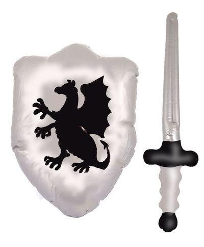 Opblaas ridder set