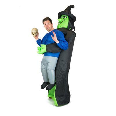 Heksen carry me kostuum