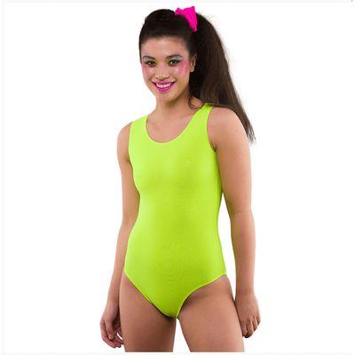 Foto van Neon body geel