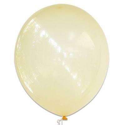Ballonnen bubbel geel (61cm)