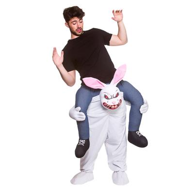 Foto van Carry me evil bunny kostuum