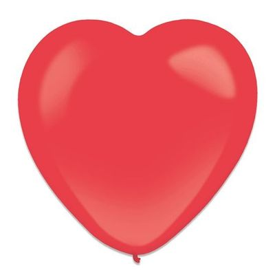 Hartballon apple red (30cm) 50st