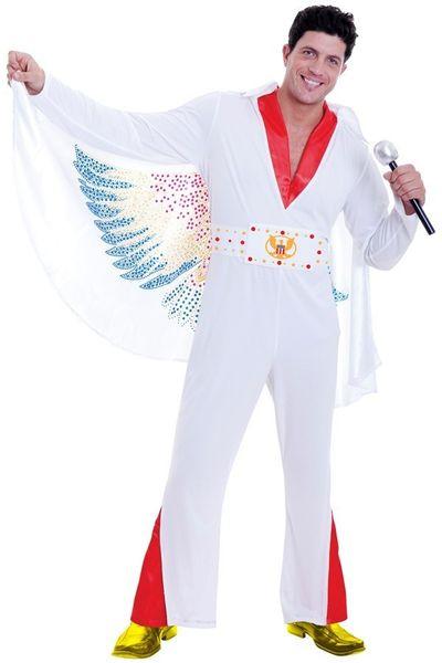 Kostuum Rock star The King