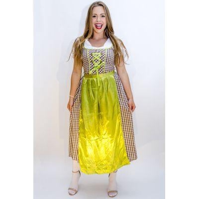 Oktoberfest jurk lang - Wendy