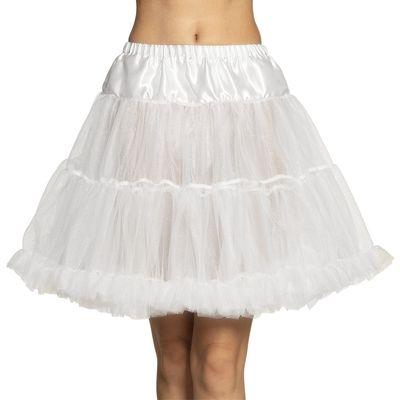 Petticoat wit luxe