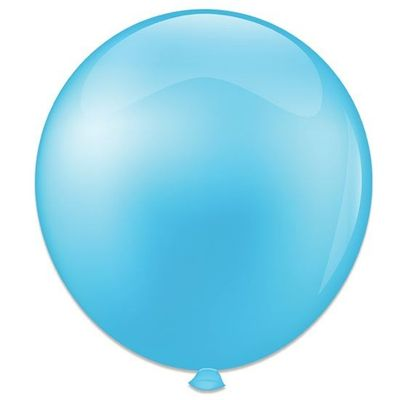 Foto van Topballon babyblauw (91cm) 6st