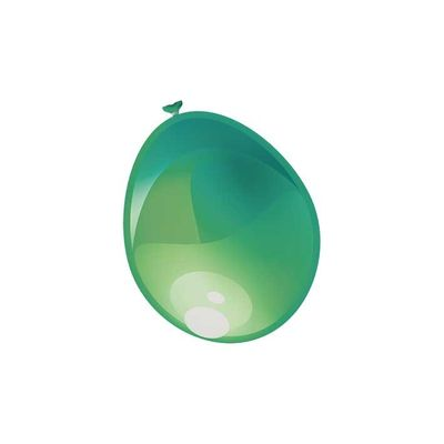 Ballonnen Metallic Groen 50st