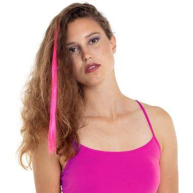 Foto van Neon hair extension