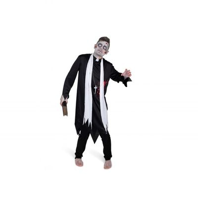 Foto van Zombie priester kostuum