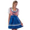 Afbeelding van Heidi jurkje rood-wit-blauw