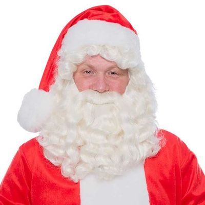 Kerstman baard kanekalon