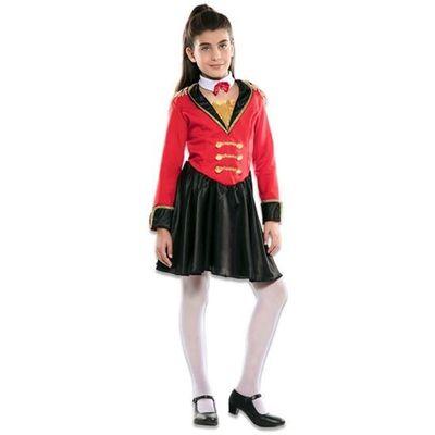 Foto van Circusartieste kostuum meisje