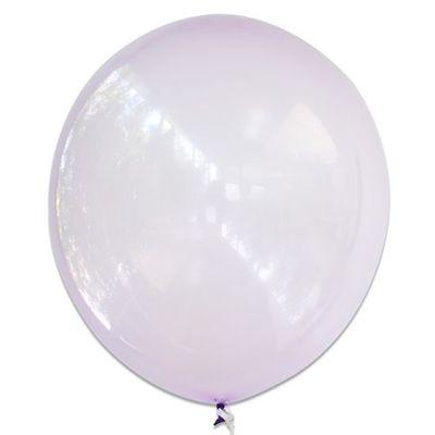 Ballonnen bubbel paars (61cm)