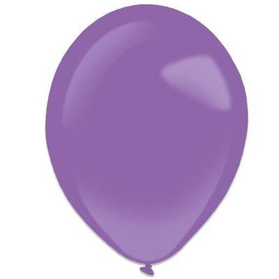 Foto van Ballonnen new purple (28cm) 50st