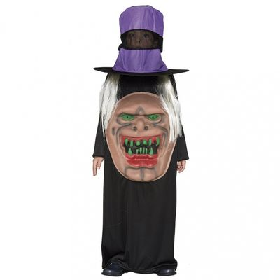 Foto van Monster met hoed kostuum kind