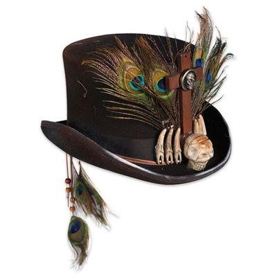 Voodoo hoed - Luxe