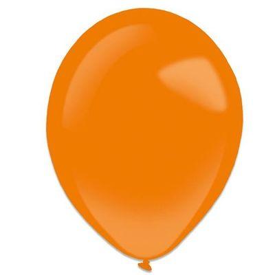 Foto van Ballonnen tangerine (28cm) 50st