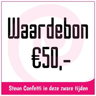 Waardebon € 50,-
