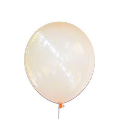 Foto van Ballonnen bubbel oranje (30cm)