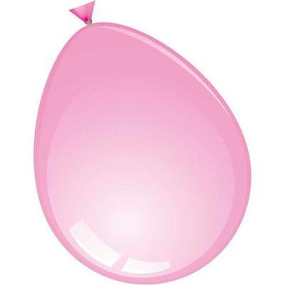 Mega ballon roze (74cm) 25st
