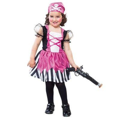 Roze piraten jurkje