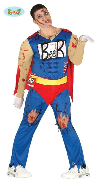 Zombie bier kostuum