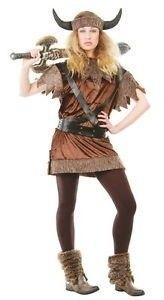 Foto van Viking kostuum vrouw