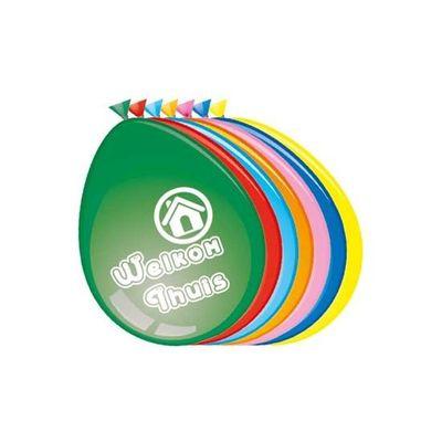 Ballonnen Welkom thuis (30cm) 8st