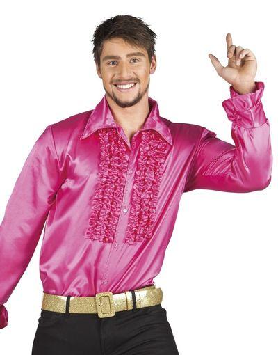 Disco blouse roze