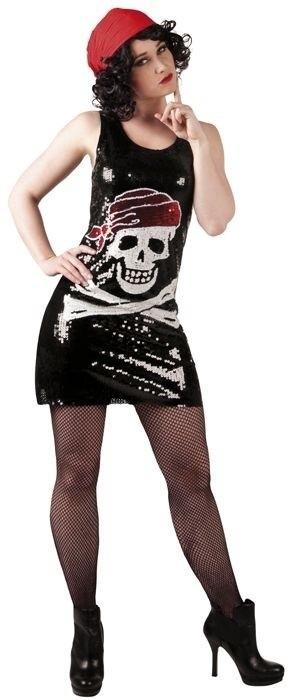 Pailletten jurkje Piraat