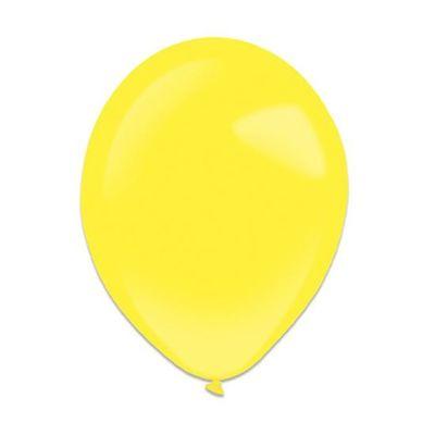 Ballonnen yellow sun (13cm) 100st