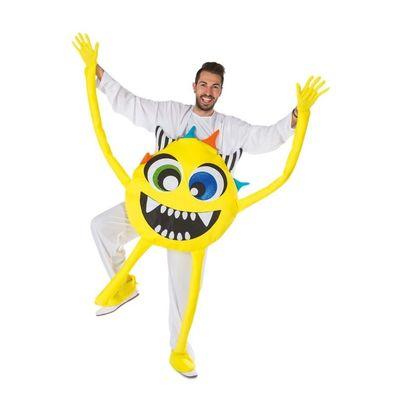 Foto van Monster kostuum geel unisex one size