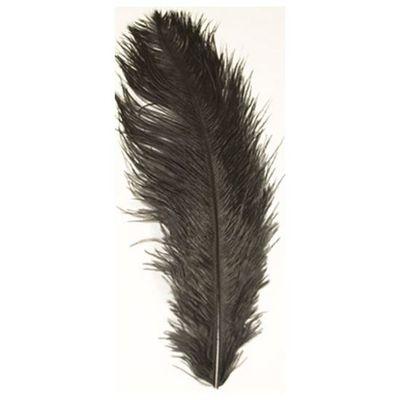 Struisveer 40-45 cm zwart
