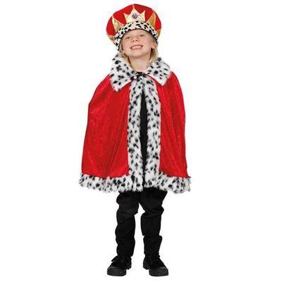 Koningsmantel voor kinderen