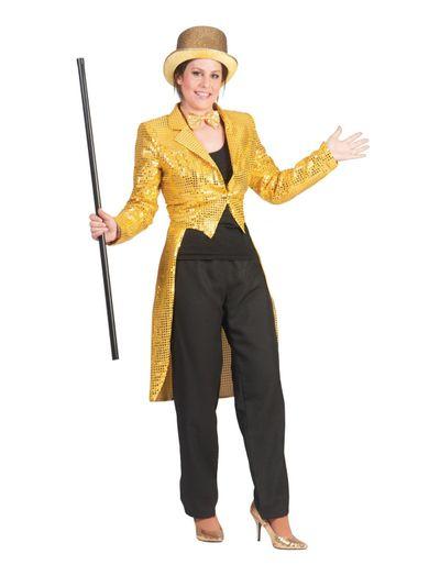 Circus slipjas goud dames