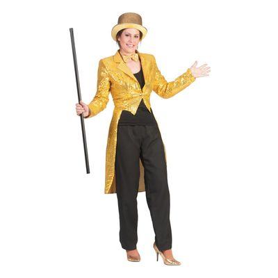 Foto van Circus slipjas goud dames